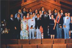 헌당예배에 참석한 주류 인사들